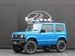 ジムニーXL 5MT BLITZ ZZ−R車高調整式サスペンション WORK or RAYS16インチアルミホイール 7インチナビゲーションシステム KUHL オリジナルフロアマット