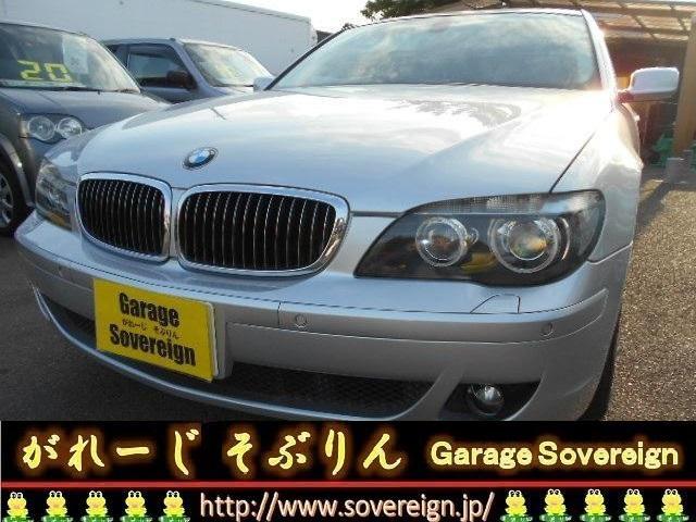 BMW 740iダイナミックスポーツ 禁煙 HDDナビ HIDヘッド