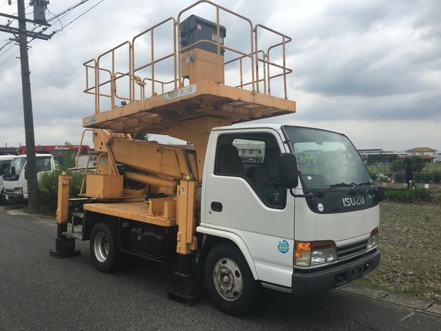 いすゞ 高所作業車 ローラージャッキ 特定自主検査付き TZ10A