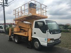 エルフトラック高所作業車 ローラージャッキ 特定自主検査付き TZ10A