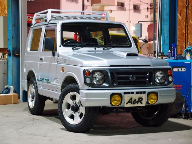 スズキ ジムニー ワイルドウインド 5速 JA22W 1型 (なし)