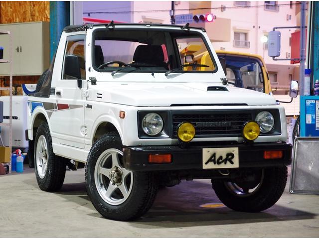 スズキ ジムニー CC幌 5速 JA11C 1型