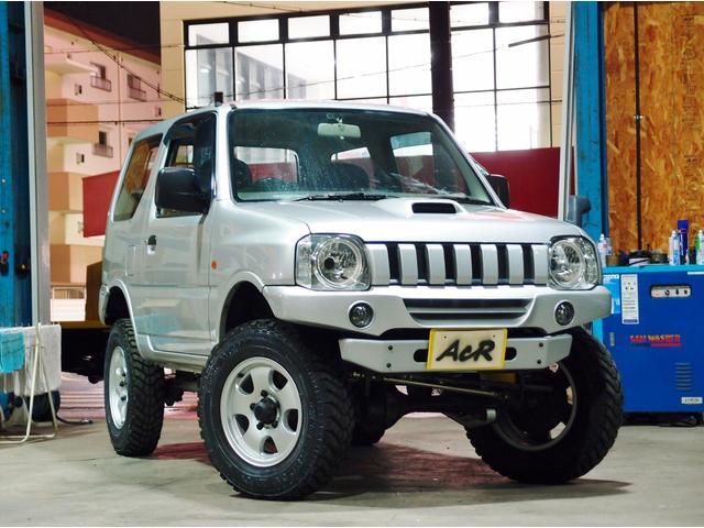 スズキ ジムニー XL 5速 JB23W 3型 リフトアップ公認