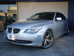 BMW525iハイラインパッケージ SR 黒革 20インチアルミ