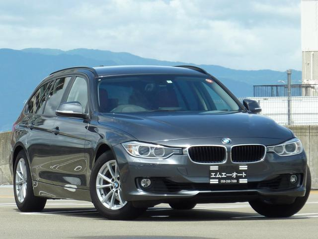 BMW 320iツーリング 赤革シート