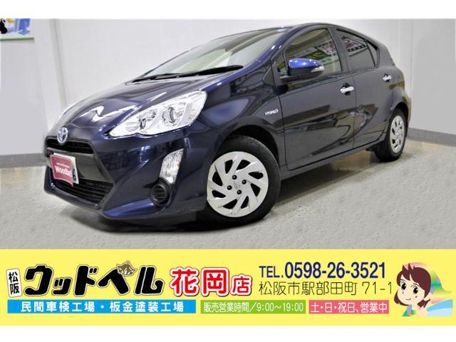 トヨタ アクア Sスタイルブラック ナビ フルセグ CD DVD Bluetooth ETC バックカメラ スマートキー プッシュスタート Goo保証1年 車検整備付