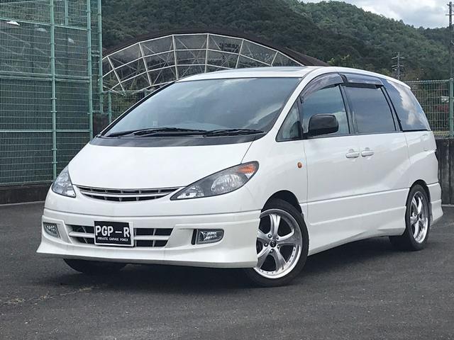 トヨタ アエラス 4WD ツインムーンルーフ 走行4.8万K