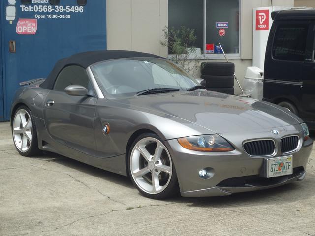 BMW 2.5i ACシュニッツァー仕様 電動オープン 黒革シート