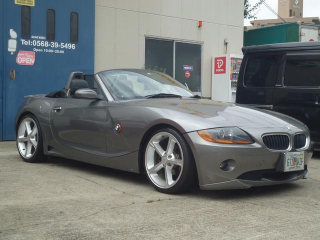 BMW 2.5i ACシュニッツァー仕様 電動OP 黒革シート