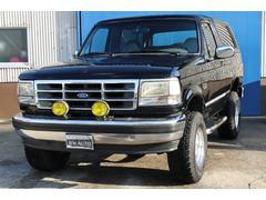 フォード ブロンコXLT 5インチリフトアップ グレーレザーシート