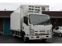 エルフトラック冷蔵冷凍車 最積3t 新明和格納パワーゲート Bアイカメラ