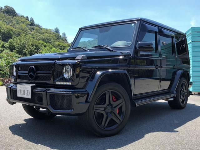 G63 AMG デジーノEXC(黒×白) 正規車 特別低金利
