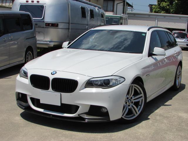 BMW 523dツーリング Mスポーツ エクスクルーシブ 茶革シート