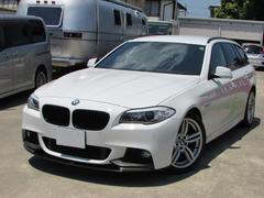 BMW523dツーリング Mスポーツ エクスクルーシブ 茶革シート