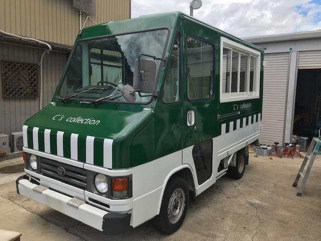 トヨタ ラッピング キッチンカー 移動販売車 ショールーム