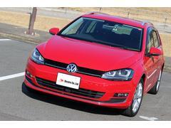VW ゴルフヴァリアントTSIハイライン オプション レザーシート 保証付