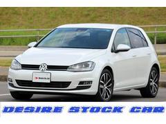 VW ゴルフTSIハイライン 純正OP レザーシート DCC 保証付