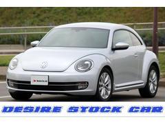 VW ザ・ビートルデザインレザーパッケージ ナビ バックカメラ 6ヶ月保証付