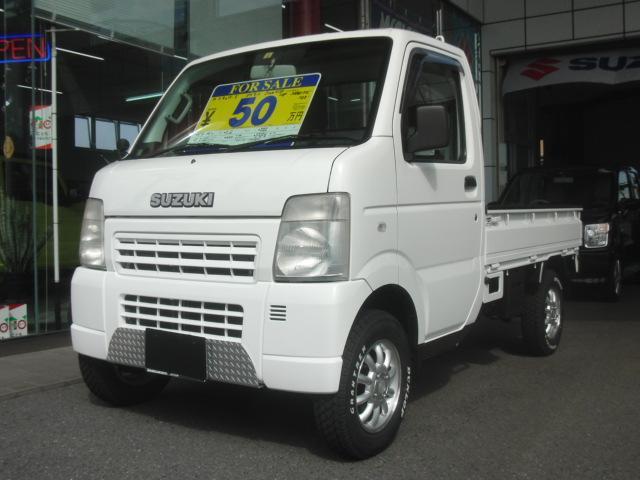 スズキ KCエアコン・パワステ 5MT 4WD HDDナビ アゲトラ