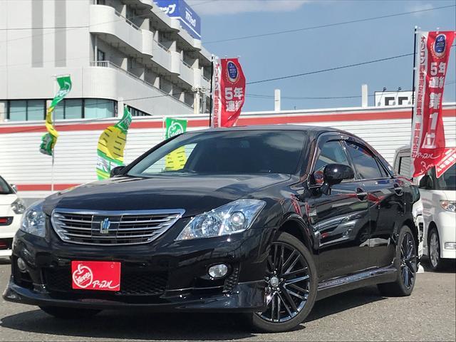 トヨタ エアロ アスリート用アルミ 黒革シート プリクラッシュ