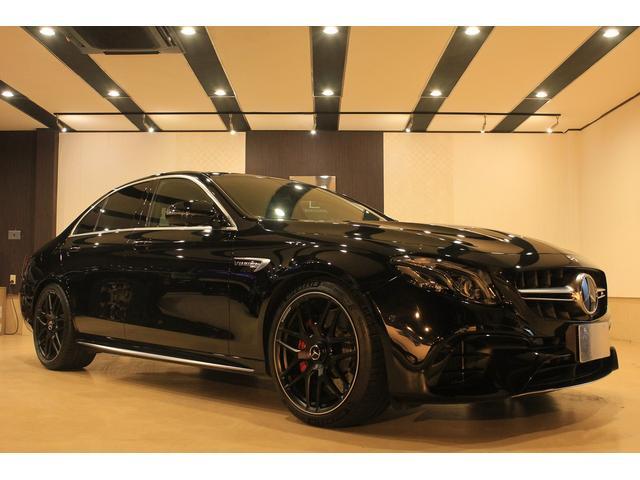 メルセデスAMG E63 S 4マチック+ エクスクルーシブPKG 黒革 SR