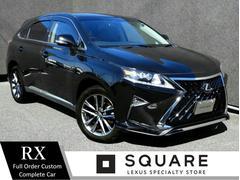 RXRX270 バージョンL 後期車/現行仕様フロント/LX TRD仕様スピンドルグリル/LEDヘッド/LEDフォグ/オプション19インチ/パワートランク/茶革シート/シートヒーター&クーラー/ハンドルヒーター/Bluetooth