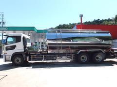 クオンベースグレード 青木製作所タンク車 最大数量12000L 最大積載量12000kg 専用運搬車水