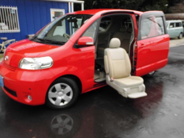 トヨタ 150rウェルキャブ 福祉車両 助手席リフトアップシート