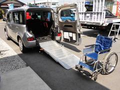 キューブ福祉車両 チェアキャブスロープタイプ キーレス リモコン