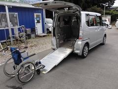 N BOX+G・Lパッケージ車いす仕様車 福祉車両スロープ車電動ウインチ