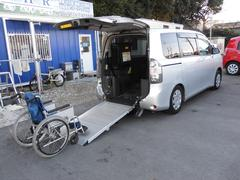 ヴォクシーX Lエディションウェルキャブ車イス2脚仕様電動スロープ車