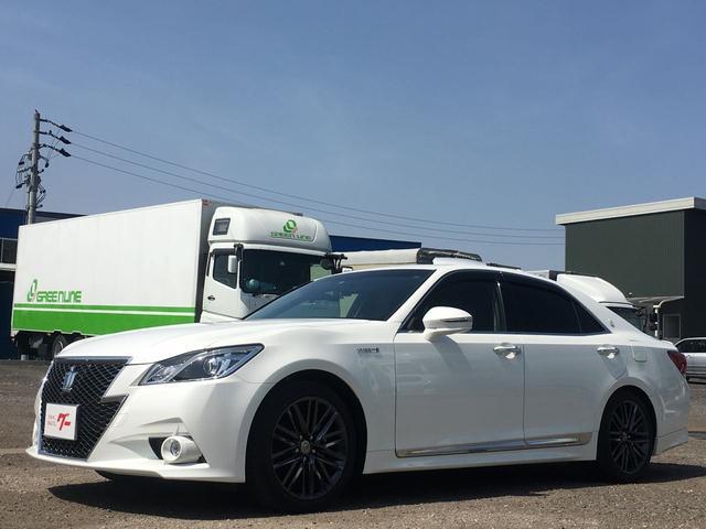 トヨタ アスリートS 黒革シート サンルーフ オプション18AW