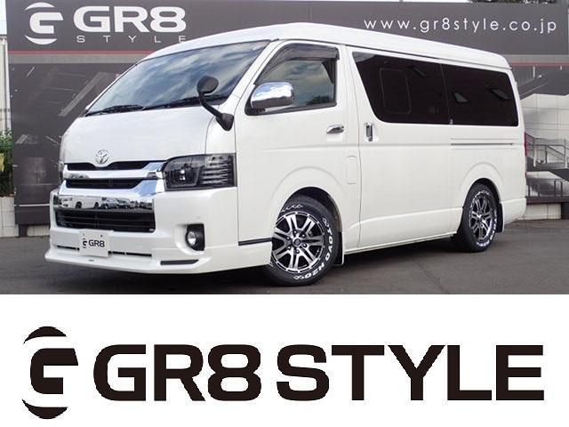 トヨタ ロングスーパーGL SD地デジナビ 新品レザー調シートカバー