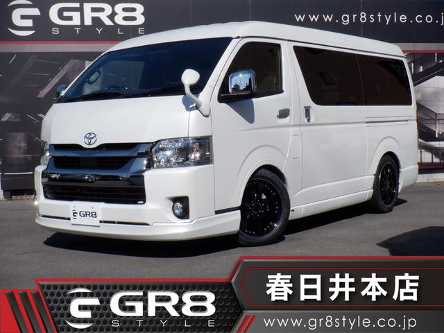 トヨタ スーパーGL ダークプライムII ワイドボディ/両側パワースライドドア/スマートキー/プッシュスタート/パノラミックビューモニター/デジタルインナーミラー/トヨタセーフティセンス/LEDヘッドライト