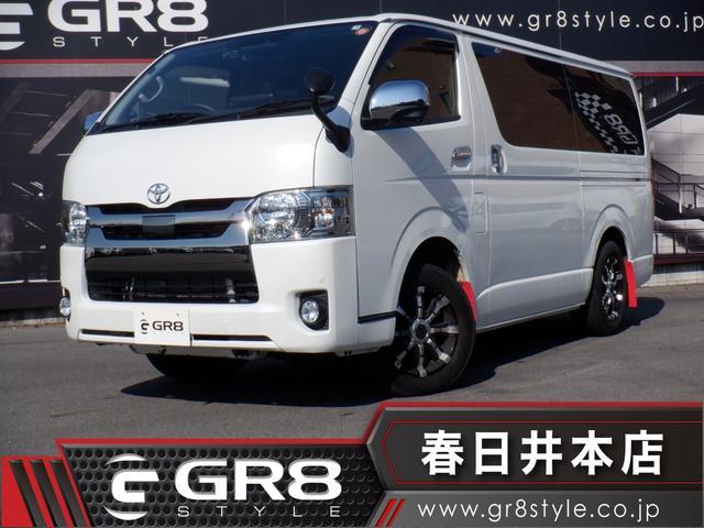 トヨタ スーパーGL ダークプライム 1オーナー/4WD/ALPINE フローティングBIG X/TV/Bluetooth/DVD再生/Bカメラ/ETC/両側パワスラ/セーフティセンス/TRDセミバケットシート/16inAW/ドラレコ
