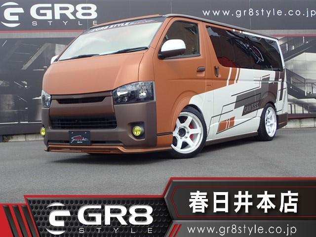 トヨタ ロングスーパーGL GR8デモカー/ALPINESD地デジナビ/Bluetooth/DVD視聴可/DVD視聴可/ETC/AC100V電源/バックモニター/LEDヘッドライト/スマートキー
