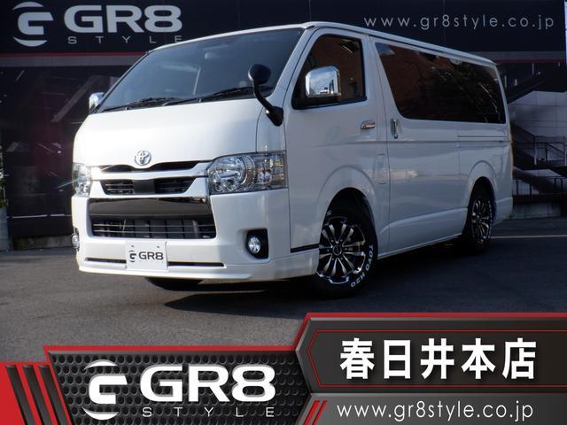 トヨタ スーパーGL ダークプライムII SDナビTV/Bluetooth/DVD再生/バックカメラ/ETC/TRDフロントスポイラー/16inAW/スマートキー/Wエアバック/セーフティセンス/LEDヘッドライト