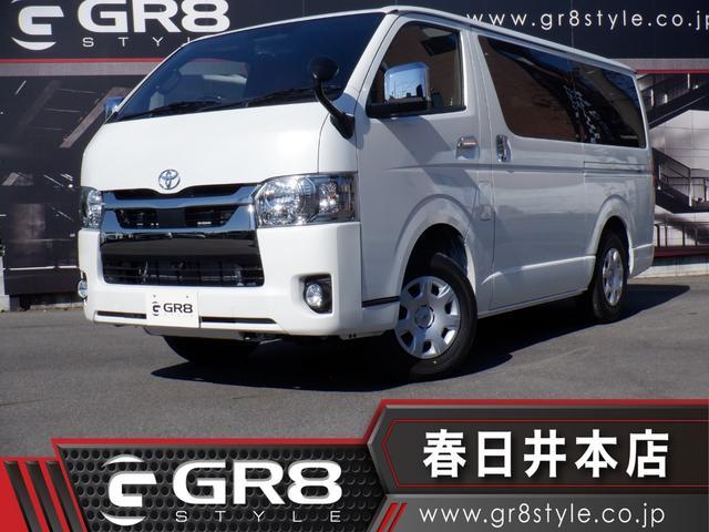 トヨタ スーパーGL ダークプライムII 6型/4WD/デジタルインナーミラー/パノラミックビューモニター/トヨタセーフティセンス/LEDヘッドライト/両側パワースライドドア/スマートキー/AC100V電源