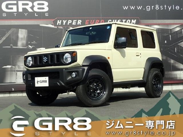 スズキ JL スマートキー&エンジンプッシュスタート/セーフティーサポート/前席シートヒーター/CDオーディオ/Bluetooth/オートエアコン/4WD/フォグランプ/1500cc/アイボリーカラー