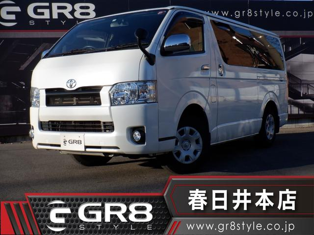 トヨタ ロングスーパーGL 4WD/SDナビTV/Bluetooth/DVD再生/Bカメラ/ETC/モデリスタマルチロールトランスポーター/LEDヘッド/両側パワスラ/スマートキー/Wエアバック/AC100V電源/ドラレコ