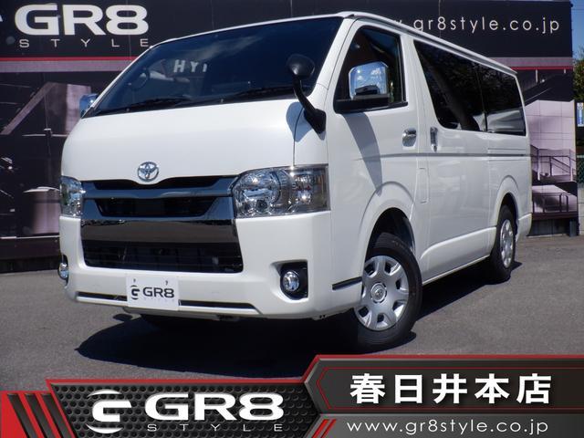 トヨタ スーパーGL ダークプライムII マイナーチェンジ後モデル/GR8ライトキャンパーキット/4WD/ALPINE BIGX/DVD再生/Bluetooth/パノラミックビューモニター/デジタルインナーミラー/両側パワスラ/サブバッテリー