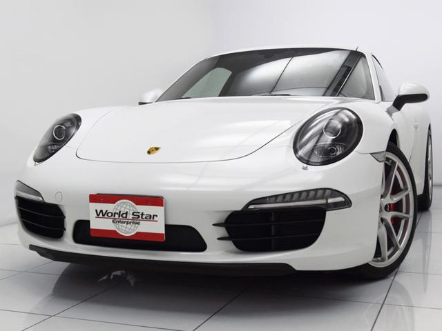 ポルシェ 911カレラSスポーツクロノPKG サンルーフ 黒革シート
