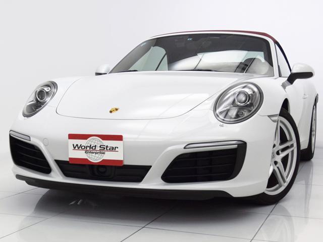 ポルシェ 911カレラ カブリオレ スポーツクロノPKG 17yモデル