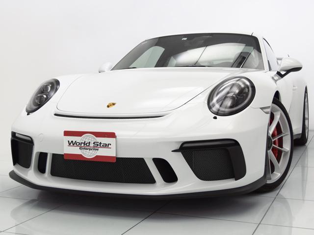 ポルシェ 911GT3 MT Fリフト クロノP ブラックLEDライト