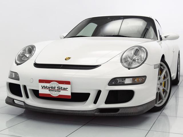 ポルシェ 911 911GT3 スポーツクロノPKG OP308 PCCB イエローキャリパー ライトウェイトバケットシート ダイナミックコーナリングライト カーボンセンターコンソール カーボンドアエントリーガード カーボンダッシュボードトリム 禁煙車