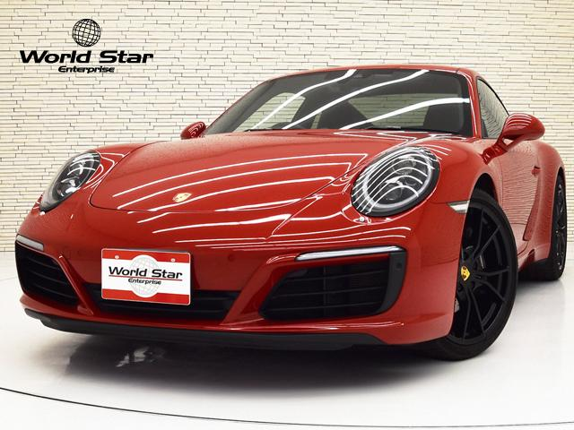 ポルシェ 911 911カレラ スポーツクロノPKG 19yモデル OP461 LEDメインブラックヘッドライトPDLSプラス スポーツエキゾーストシステム 前後パークセンサー Bカメラ 20インチカレラSAW ブラックレザーインテリア シートH 禁煙車