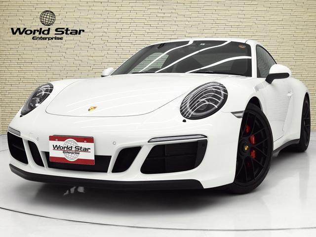 ポルシェ 911 911カレラGTS スポーツクロノPKG OP186 LEDメインブラックヘッドライトPDLSプラス 前後パークセンサー Bカメラ スポーツデザインPKGリアスポイラー ポルシェエントリードライブ レーンチェンジアシスト 電格ミラー 禁煙車