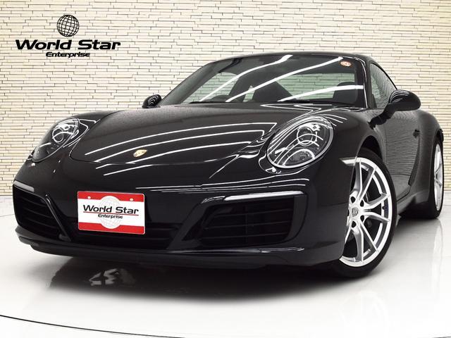 ポルシェ 911カレラ スポーツクロノPKG OP120 20インチカレラSAW PDLSバイキセノンヘッドライト 電格ミラー ブラックレザーシート シートH GTスポーツステアリング パワーステアリングプラス PCMナビ フロアマット 禁煙車
