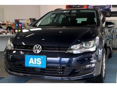 VW ゴルフヴァリアントTSIコンフォートラインBMT 純正ナビTV キセノン
