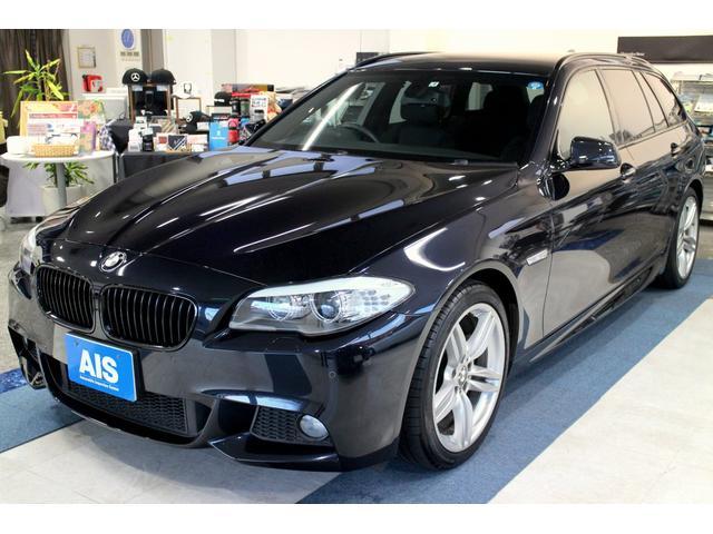 BMW 523iツーリング Mスポーツ 1オーナー 純正ナビ